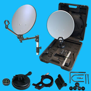 Mobile Sat Satellites Digital System Camping portable in a case Balcony Garden