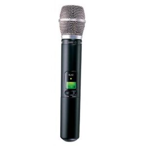 Shure SLX2/Sm86 Wireless Handheld Transmitter with SM86 Mic