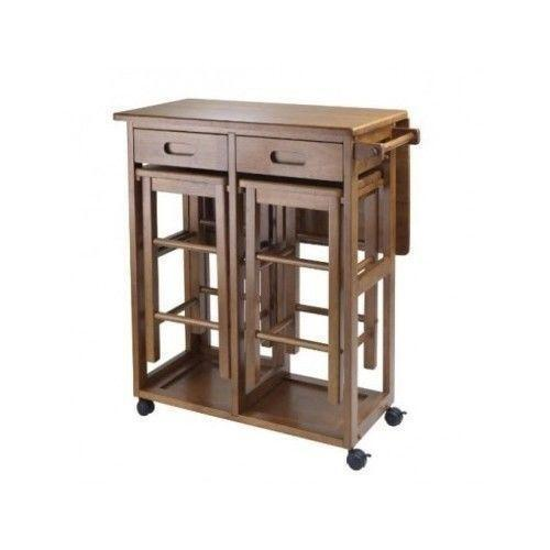 rolling kitchen island with stools kitchen island table ebay 7801