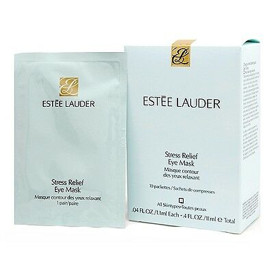 1 PC Estee Lauder Stress Relief Eye Mask 10sheets, 1box Skin