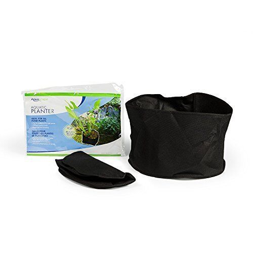 """Aquascape 98502 Fabric Aquatic Plant Pot 12""""x8"""" 2pk. Flexible Water Lily Planter"""