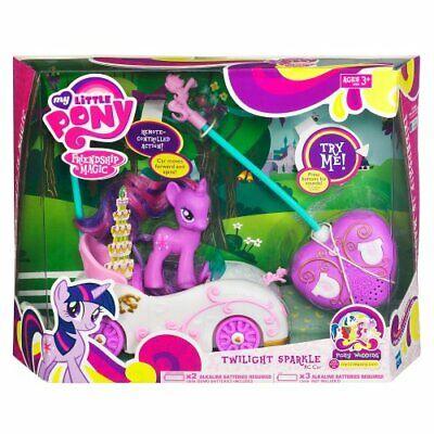 My Little Pony Magic Friendship Twilight Sparkle RC Car NIB 2012 w/ Remote