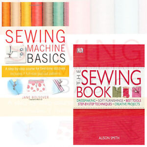 The Sewing Book  Collection 2 Books Set By Jane Bolsover & Alison Smith New UK