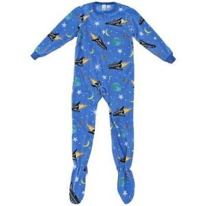 9bc0d21585 Boys Footed Pajamas XL