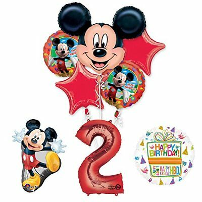 The Ultimate Mickey Mouse 2nd Birthday Party Supplies and Balloon Decorations - Mickey Mouse Balloon Decorations