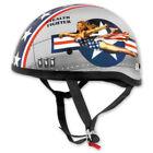 Skid Lid Silver Helmets