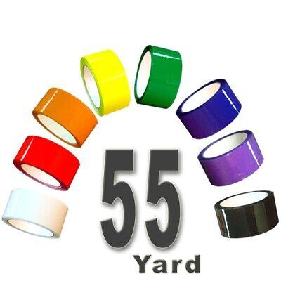 Rainbow Pack 2.0 Mil Carton Sealing Tape 2 X 55 Yard Roll 2.0 Mil 10 Roll