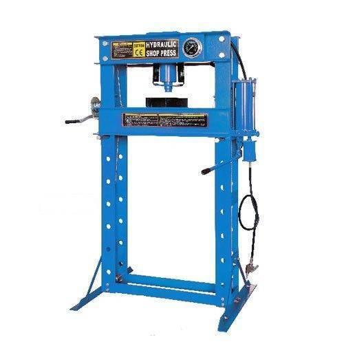 Shop Press Air Hydraulic With Ram Amp Gauge 50 Ton Part No