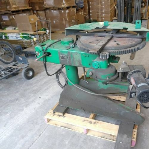 """P&H Welding positioner 24"""" turntable T-slots  Variable Speed Hydraulic tilting"""