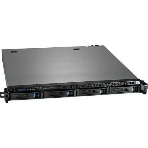 Lenovo EMC PX4-300R 0TB Diskless 1U Rackmount Network Attached Storage NAS