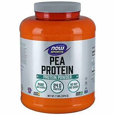 NOW Sports Nutrition, Pea Protein 24 G, Fast Absorbing, Unflavored Powder, 7-...