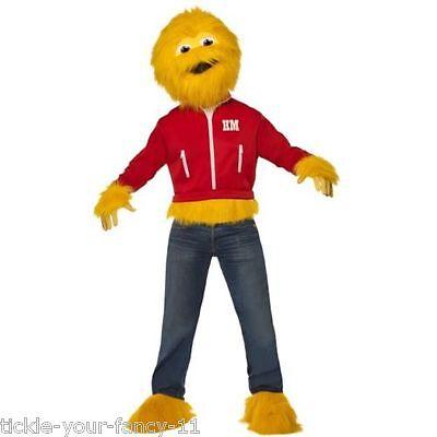 Men's Licensed Honey Monster Costume Fun 80's Fancy Dress Sugar Puffs TV - 80s Tv Halloween Costumes