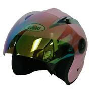 Womens Pink Motorcycle Helmet