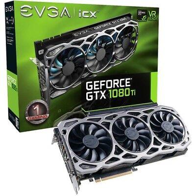 NVIDIA EVGA Geforce GTX 1080ti FTW3 11GB GDDR5X VRAM - Used Excellent Condition