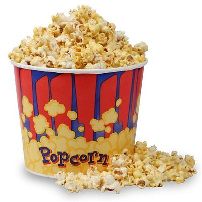 Popcorn Supplies - Popcorn Tub 85 Oz - Quantity Of 50 Popcorn Tubs