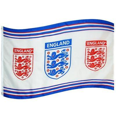 England FA Official Flag Football Supporters Russia 2018 World Cup Flag 3 lions