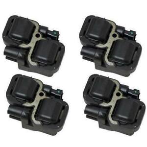 New Ignition Coil Pack - Set of 4 - Mercedes V6 V8 - 5098138AA