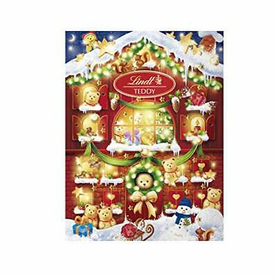 Lindt 2020 Holiday Teddy Bear Advent Calendar Great for Holiday Gifting 6.1 Oz