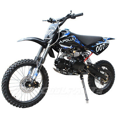 125cc motorcycle Dirt Bike with 4-Speed Manual Transmission,free shipping ()