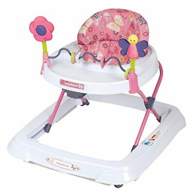 Baby Walkers for Girls Boys with Toys Removable Bar Multi-Directional Wheels New