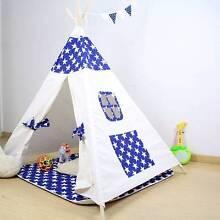 Kids Teepee Indoor & Outdoor Play Tent - Stars Albert Park Port Phillip Preview