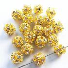Gold Round Beads 10mm