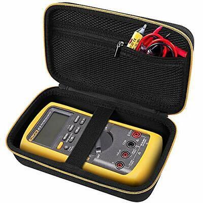 Fluke Multimeter Carrying Case Protective Comecase Hard 87-v Digital Black Bag