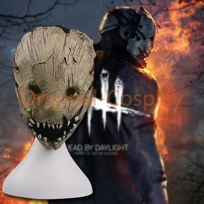 Game Dead by Daylight The Trapper Mask Cosplay Adult Halloween Party Mask New - Adult Party Games Halloween