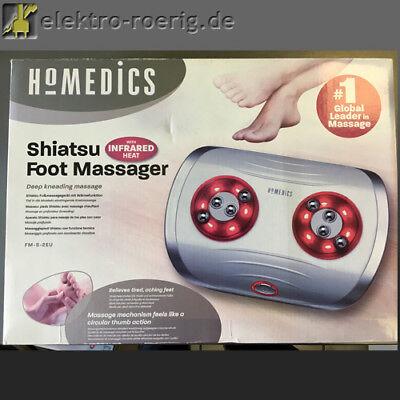 Shiatsu Fußmassagegerät mit Wärmefunktion FM-S-2EU HoMedics