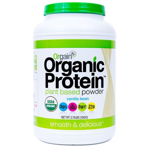 Orgain Organic Protein Powder Vanilla - 2.74 Lbs