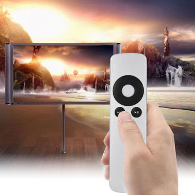Silver Genuine Replacement Remote Control for Apple TV TV2 TV3 TV4 All Gen Hot I
