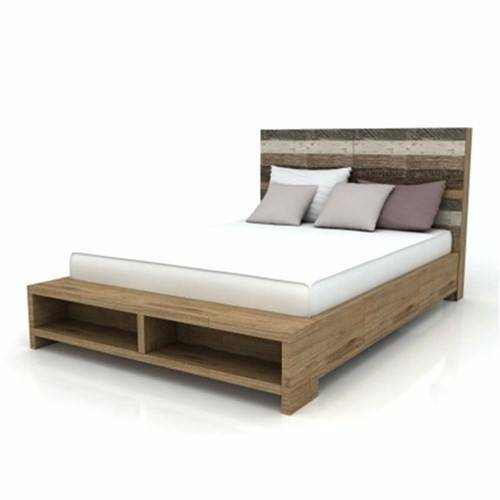 Hardwood Quot Contempo Quot Queen Amp King Size Bed Frame With