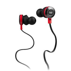 Monster  In-Ear Headphones with mic - Black
