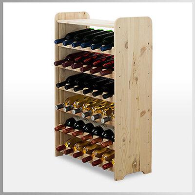 Rw-3 Farbe (Weinregal Flaschenregal* Weinschrank  für 36 Flaschen RW-3-36P 3 FARBEN)