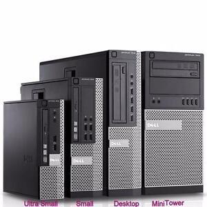 Dell Optiplex 790 Small Form Desktop PC Intel i5-2400 3.10GHz CPU 4GB RAM 250GB SATA HDD DVDROM Windows 7Pro