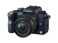 Lumix G1 DSLR camera.