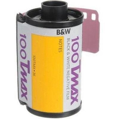 Kodak TMX 135-36 B&W Film T-Max 100 Pro Black & White Negative Print Film