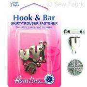 Hook and Bar Fasteners