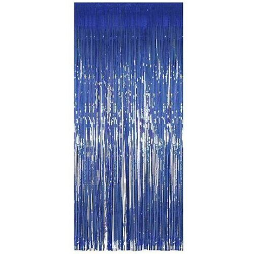 Shimmer+Foil+Curtains+for+party%2CBirthday%2CXmas+%26+wedding+decor+1M+x+2M-Blue-5pack