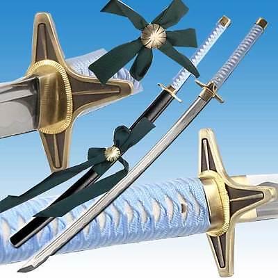 Toshiro Hitsugaya Sword Handmade Hyorinmaru Functional High Carbon Steel Katana