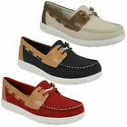Clarks Boat Shoes Synthetic Flats & Oxfords for Women