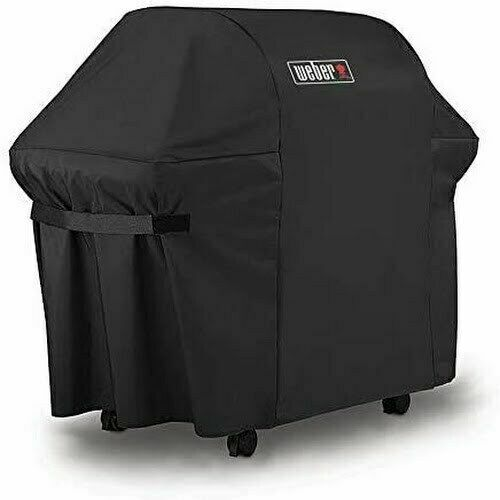 BBQ Gas Grill Cover 7107 Weber Genesis E & S Series Outdoor Heavy Duty Black