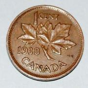 1938 Canadian Penny