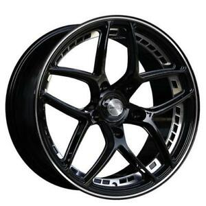 **PROMOTION** MAGS NEUFS 20'' 5 X 114.3 HD WHEELS OVERDRIVE BLACK
