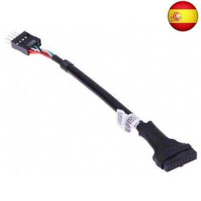 Cable interno placa USB 3.0 tipo HS20 a USB 2.0 placa de...