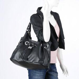 NEW - Designer Inspired Black Leather Handbag Gatineau Ottawa / Gatineau Area image 2