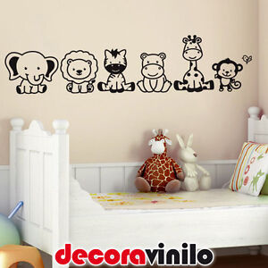 Vinilo decorativo pegatina pared wall sticker infantil for Pegatinas para habitacion bebe