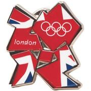 Official London 2012 Olympic Pin Badge