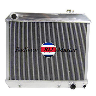 ALUMINUM RADIATOR FOR 1961-1966 CHEVY TRUCK C/K SERIES PICKUP 3ROW 62 63 94 65