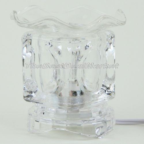 Glass Oil Warmer Ebay